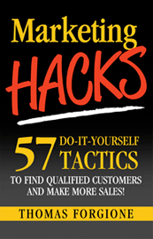 Marketing Hacks Book by Thomas Forgione